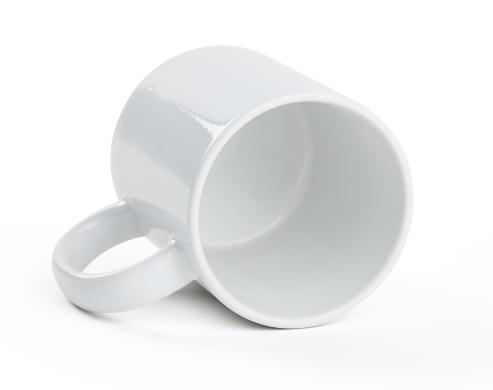 Weiße Tasse bedrucken